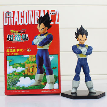 15cm PVC Dragon Ball Z Resurrection F Vegeta Figures Toy Collectible Model Doll Free Shipping
