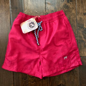 Southern Point - Water Activated Swim Trunks - Red