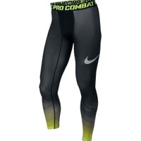 Nike Men's Pro Combat Core Fade Compression Tights