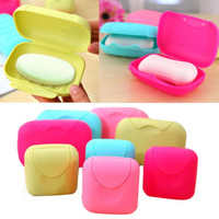 Mosunx Business 2016 Hot Selling New Bathroom Dish Plate Case Home Shower Travel Hiking Holder Container Soap Box