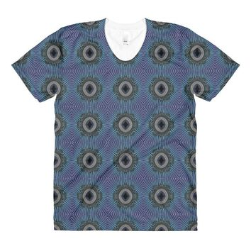 """""""Cameo"""" Made to Order Sublimation Women's Crew Neck T-shirt"""