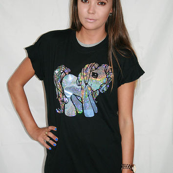 My Little Pony Pastel Grunge Tee by FreebirdApparelUK on Etsy