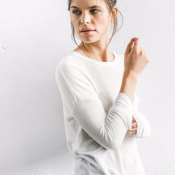 Limitless Long Sleeve - Ivory Thermal