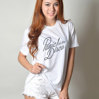 Panic at the Disco Shirts Teenage Women Clothing T-Shirt