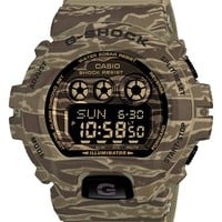 Men's G-Shock XL Camouflage Pattern Digital Watch, 58mm x 53mm - Tan Camo (Regular Retail Price: $150.00)