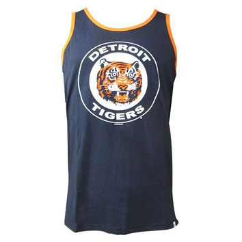 47 Brand Tigers Circle Logo Till Dawn Tank - Navy