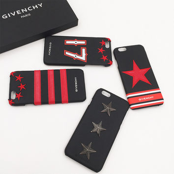 Iphone Phone Case Innovative Rivet Apple Leather Case [8153068231]