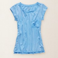 AERIE SUNWASHED POCKET T