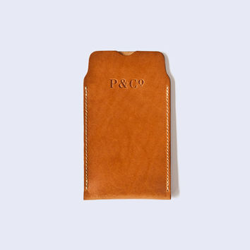 Leather iPhone 6 sleeve