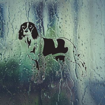 French Spaniel Vinyl Wall Decal (Permanent Sticker)