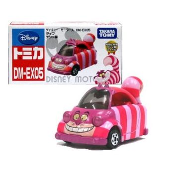 [Disney Tomica] Limited (DM-EX05) Disney Motors tap Cheshire cat special edition Cheshire cat smile Disney Takara Tomy 101 117 (japan import)