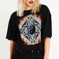 Truly Madly Deeply Psychic Symbol Crop Top - Urban Outfitters