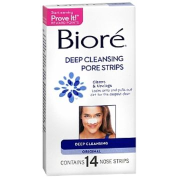Biore Deep Cleansing Pore Strips, Deep Cleansing Original