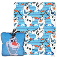 Disney's Frozen (All About Olaf)  3D Pillow & Throw Set
