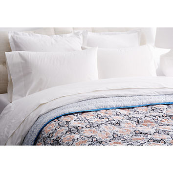Cassanova Quilt, Rose - Blankets & Quilts - Bedding - Bedding & Bath One Kings Lane