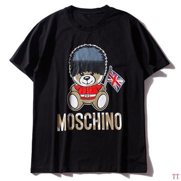 Moschino Short Round Collar Short Sleeve T-shirts #2965683
