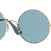 Ray-Ban 0RB3592-001/F7 GOLD -50mm womens
