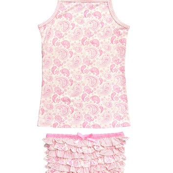 Bluebelle Frankie Paisley Pink 2 pc set