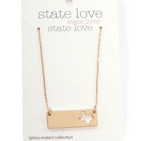 never bar from home state necklace [texas]
