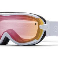 Smith - Virtue White GBF Goggles, Red Sensor Mirror Lenses