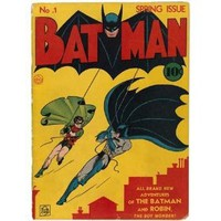 Photo Batman Comic Book No. 1 Spring Issue, 1940
