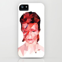 David Bowie - Polygon Oddity iPhone & iPod Case by VIVA LA GRAPH!