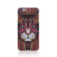 So Cool Cat Animal Luminous Light Up Cases for  iPhone 7 7Plus & iPhone 6s 6 Plus + Gift Box
