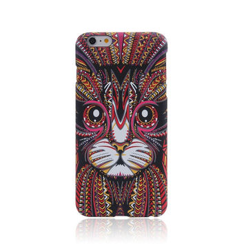 So Cool Cat Animal Luminous Light Up Cases for  iPhone 7 7 Plus & iPhone SE 5S 6 6S Plus + Gift Box