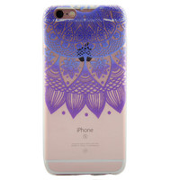 Newest Customized Purple Lace Case Cover for iPhone 7 7 Plus & iPhone 5s se & iPhone 6 6s Plus + Gift Box-463