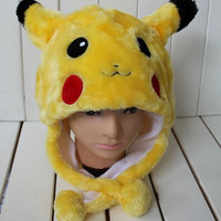 Pikachu Pokemon Cosplay Hat