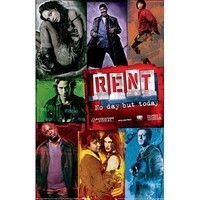 """Rent Movie Poster ~ Officially Licensed Studio Edition ~ Brilliant Color 24"""" X 36"""""""