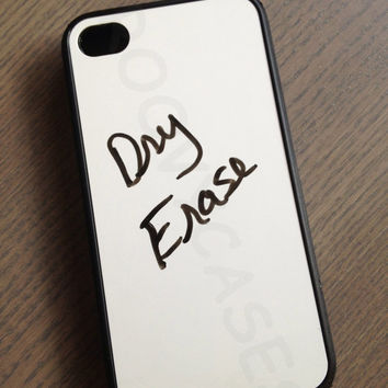 Dry Erase Board Rubber Case Fits iPhone 4/4S iPhone5/5S/5C Samsung Galaxy S3/S4