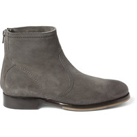 Jimmy Choo - Greaves Suede Ankle Boots | MR PORTER
