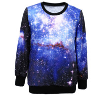 Bright stars couple loose sweatshirt