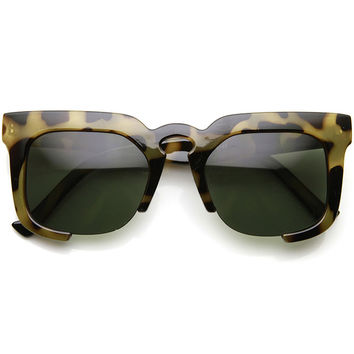 MYRNA SQUARE FRAME SUNGLASSES