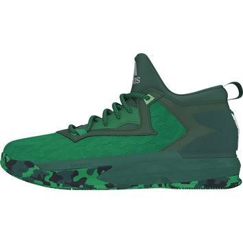 Adidas D Lillard 2 Mens Basketball Shoe Green-white 13 D(M) US '