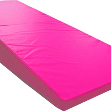 Pink Folding Incline Mat for Gymnastics | Nimble Sports
