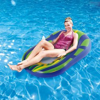 Blue Wave Mean Green 60-in. Mesh Pool Lounger