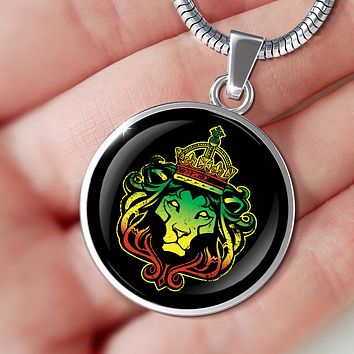 Rasta Lion Necklace