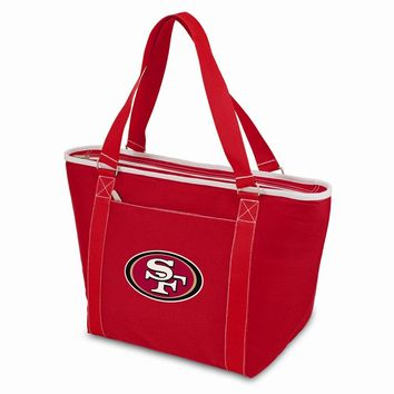 San Francisco 49ers Insulated Red Cooler Tote
