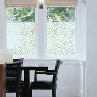 I liked this design on #Fab. Nouveau Swirl Static Window Film