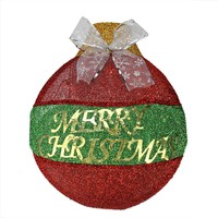 "Matte Copper Brown UV Resistant Commercial Shatterproof Christmas Ball Ornament 4"" (100mm)"