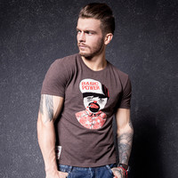 Fashion Men's Fashion Short Sleeve Print T-shirts [10488643587]