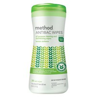 Method Lemon Antibacterial Wipes 35-ct