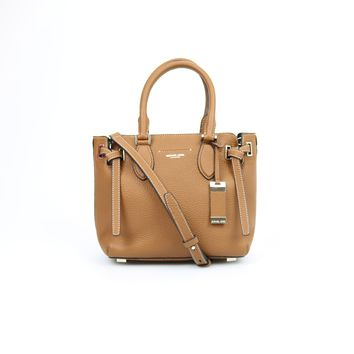 Michael Kors Collection Rogers Leather Small Satchel