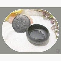 Smudge Pot Charcoal Incense Burner with Coaster