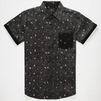 Shouthouse Superbanks Mens Shirt Black  In Sizes