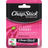 ChapStick Classic Skin Protectant Flavored Lip Balm Tube, 0.15 Ounce Each (Cherry Flavor, 24 Blister Packs of 1 Stick, 24 Total Sticks) - Walmart.com