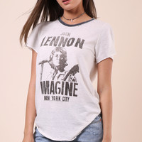 Junk Food John Lennon Imagine Tee