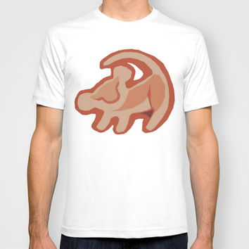 Simba / Lion King T-shirt by tshirtsz | Society6